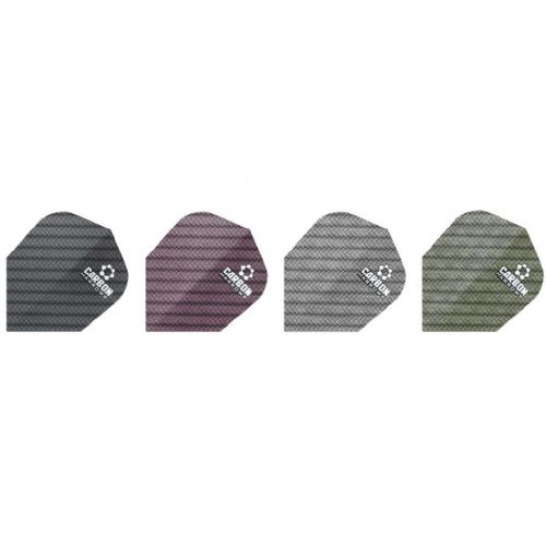 Harrows Carbon Dart Flights (Pack of 10)